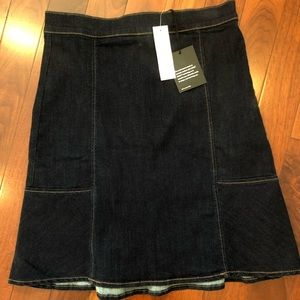 NEW (with tag) Ann Taylor Jean skirt size 6